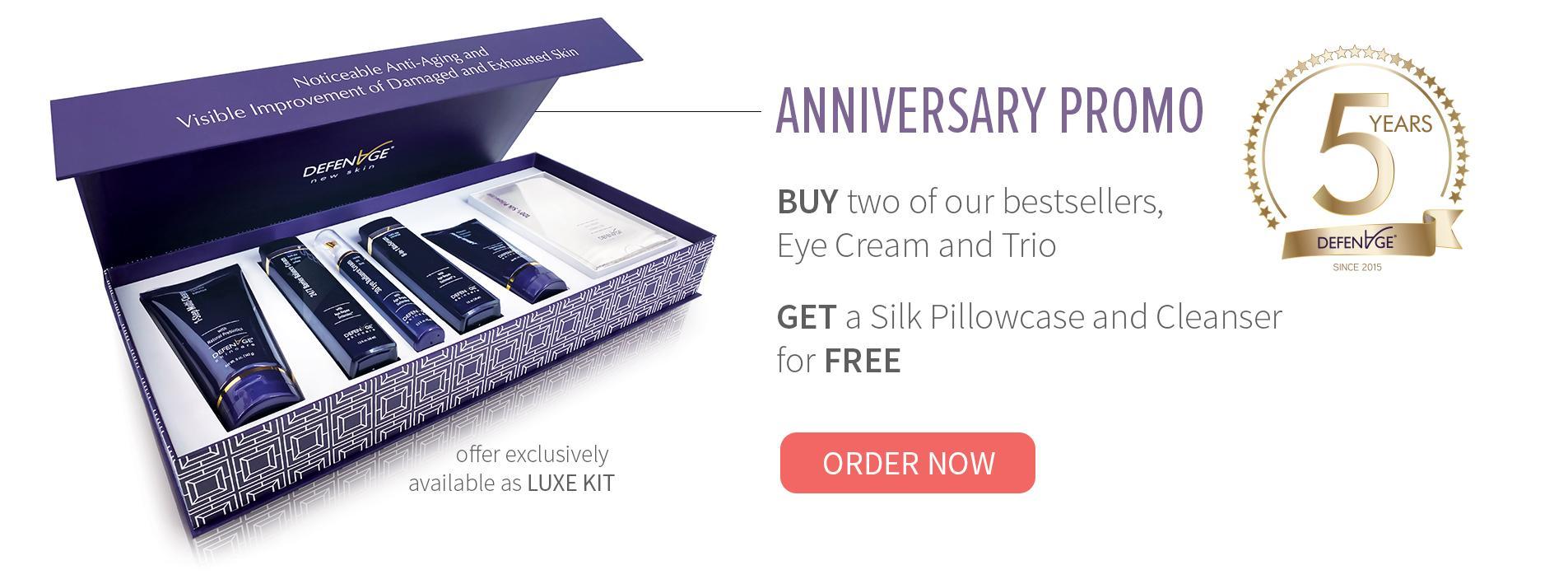 Anti-aging Skincare Promo