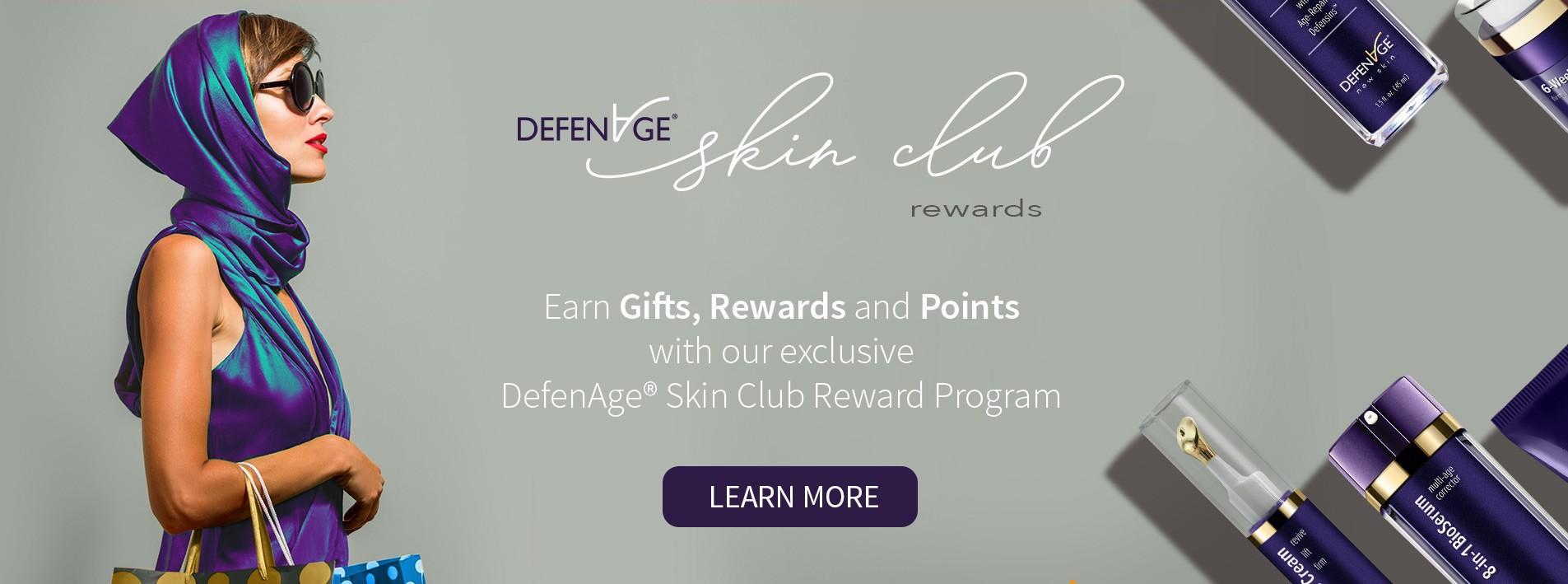 DEFENAGE REWARD PROGRAM