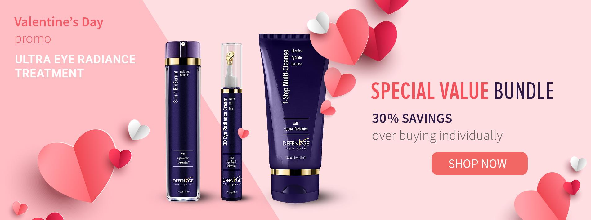 Ultra Eye Radiance Treatment for Valentine's Day