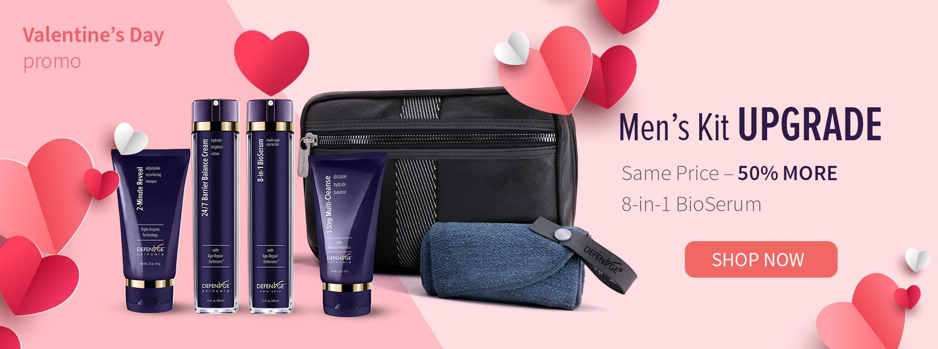 Men's Skincare Kit for Valentine's Day