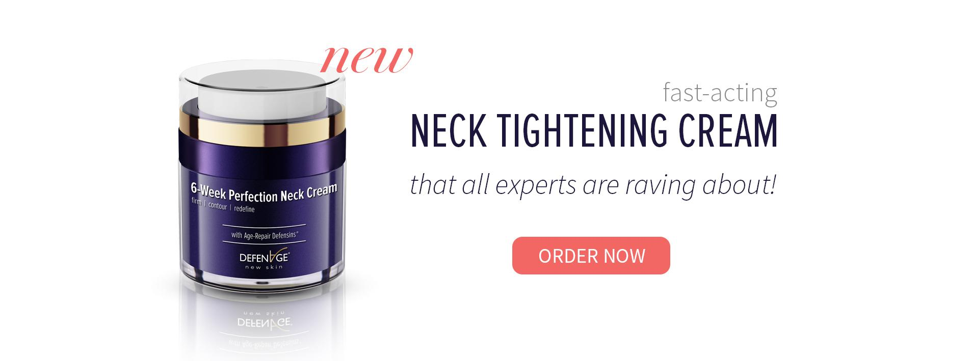 New Neck Tightening Cream