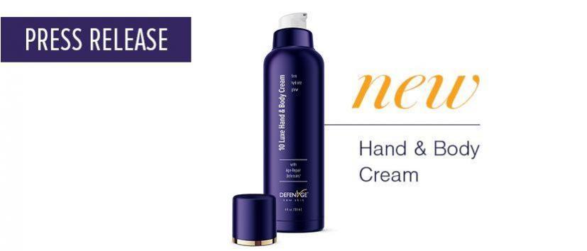DefenAge Unveils First-Ever Body Cream Containing Defensin-Molecules