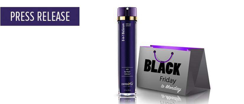 DefenAge Upgrades Its Iconic 8-in-1 BioSerum To A MEGA Size And Launches It As A Black Friday Special