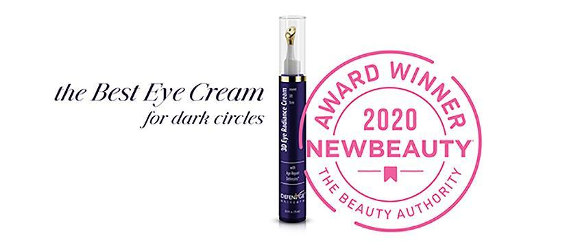 dermatologist-recommended-skin-care-brand-defenage-wins-award-for-innovative-eye-cream