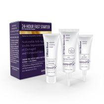 24-HOUR FAST STARTER Kit - Fragrance Free  |DefenAge® New Skin | Trial size
