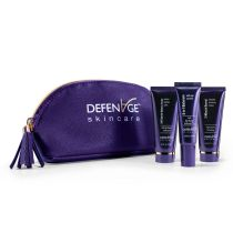 Fly Kit | Serum, Mask, Cream | Fragrance Free | DefenAge® Skincare | Two Week Trial Size | The Best New Skin Care