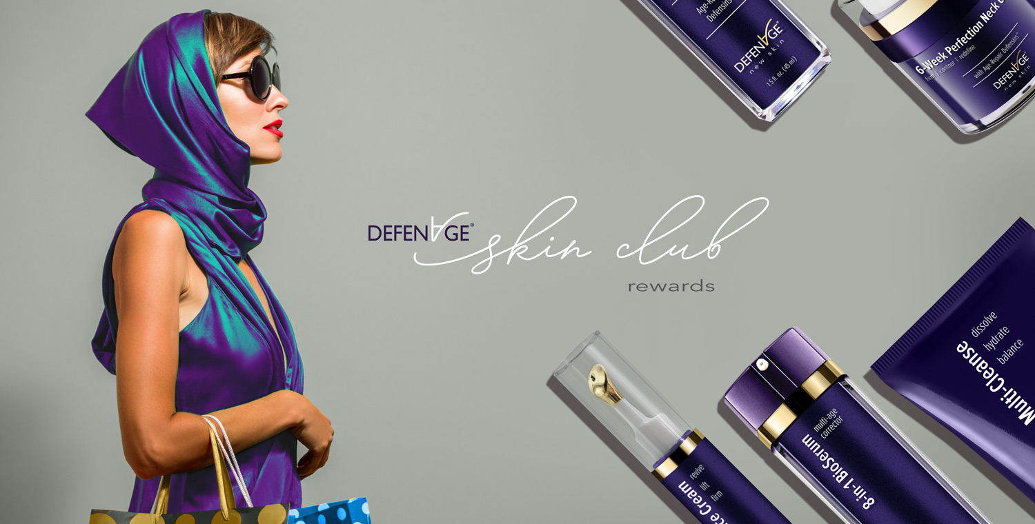 DefenAge® Skin Club Rewards